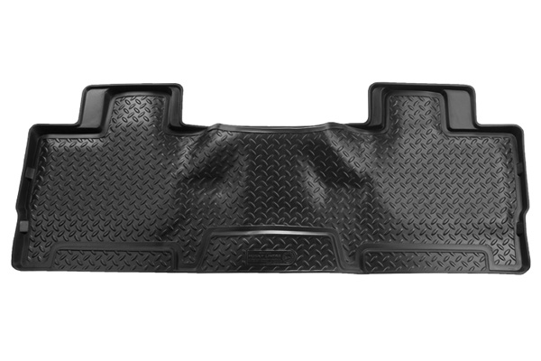 Ford Super Duty 2008-2010 F-450 Husky Classic Style Series 2nd Seat Floor Liner - Black