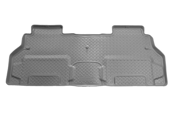 Ford Super Duty 2008-2010 F-450 Husky Classic Style Series 2nd Seat Floor Liner - Gray