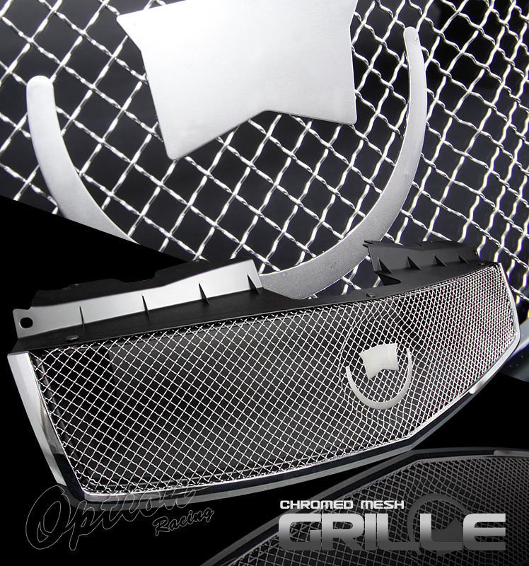 Cadillac Cts 2003-2006  Chrome Front Grill