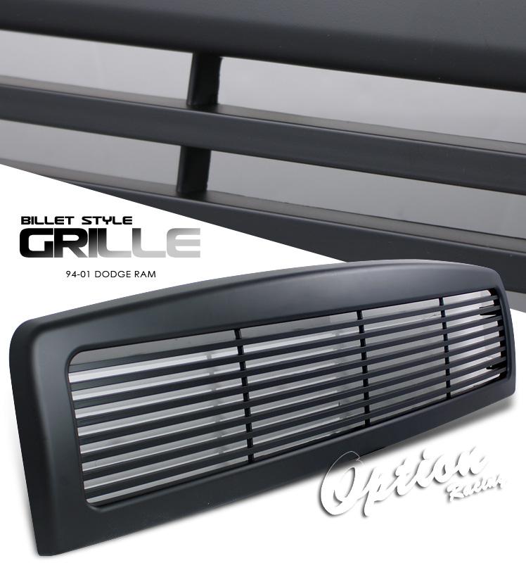 Dodge Ram 1994-2001  Billet Style Black Front Grill