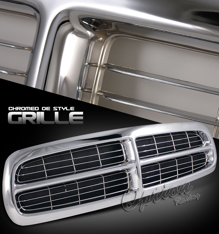 Dodge Dakota 1997-2004  Factorym Style Chrome Front Grill