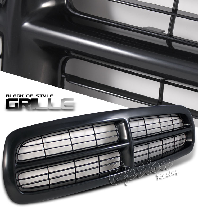 Dodge Dakota 1997-2004  Factorym Style Black Front Grill