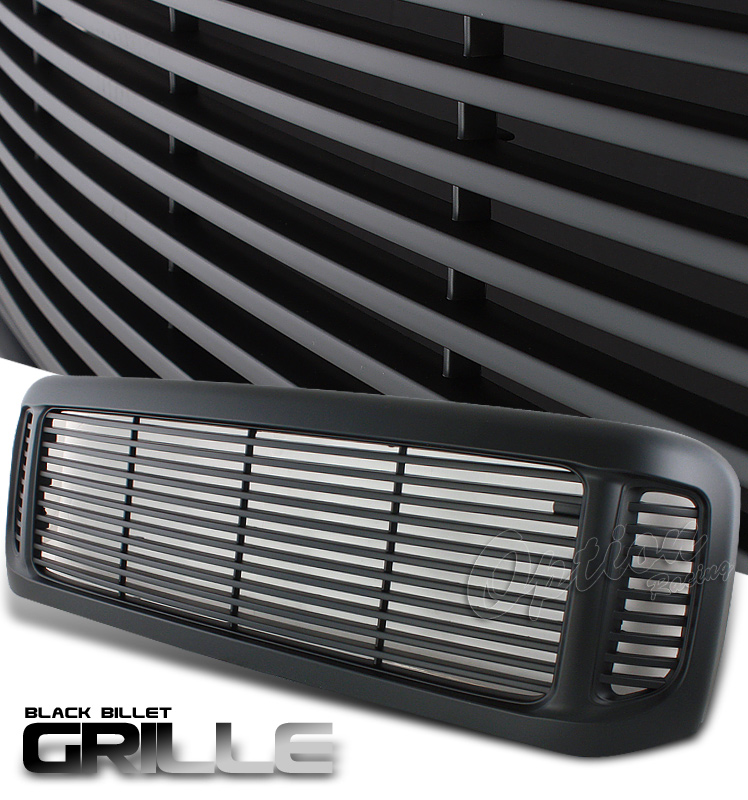 Ford Super Duty 1999-2004  Billet Style Black Front Grill