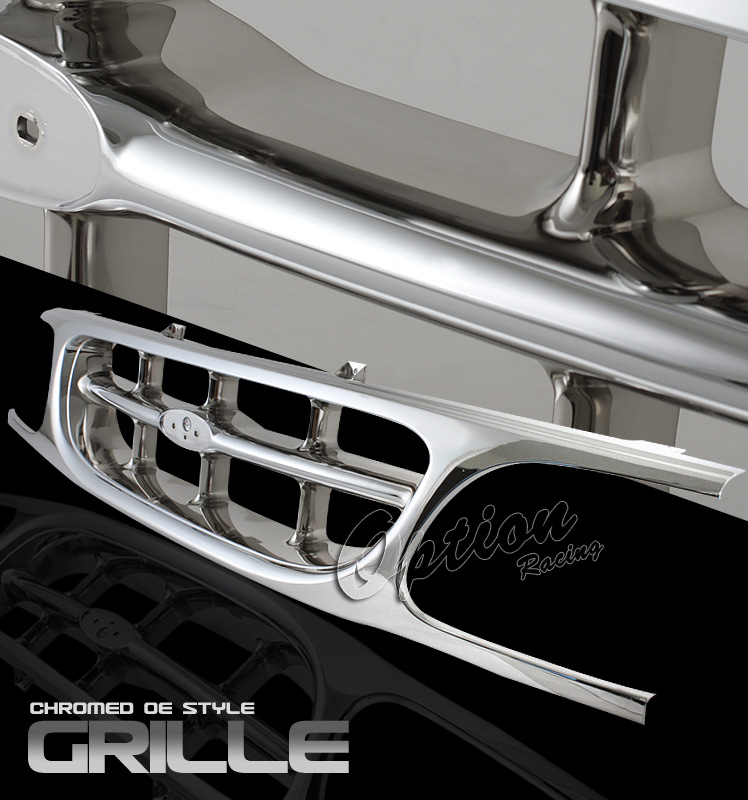 Ford Explorer 1995-1998  Factory Style Chrome Front Grill