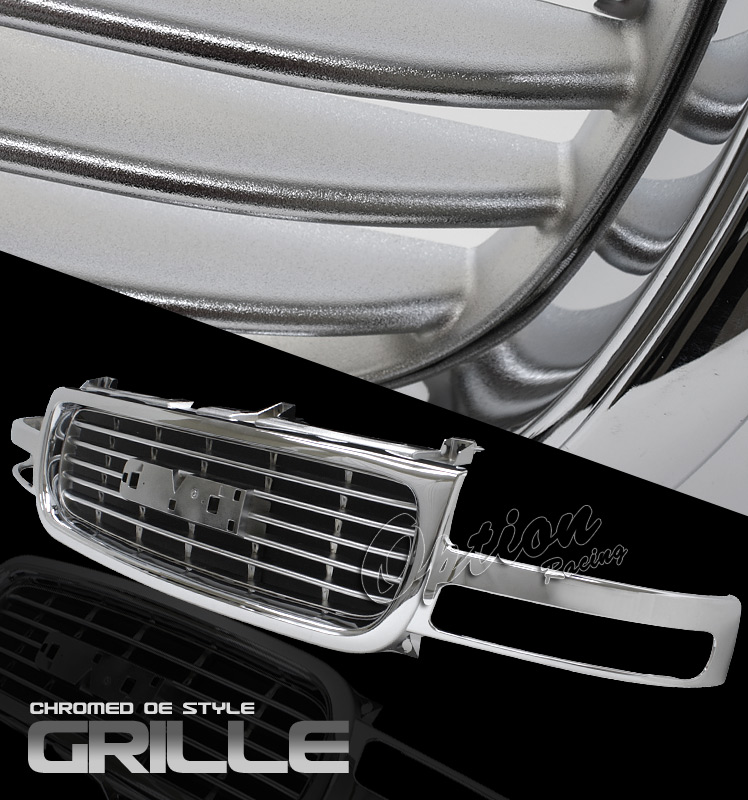Gmc Sierra 1999-2002  Factory Style Chrome Front Grill