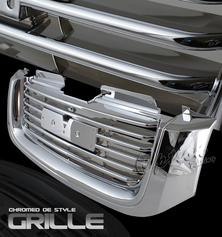 Gmc Envoy 2002-2008  Factory Style Chrome Front Grill