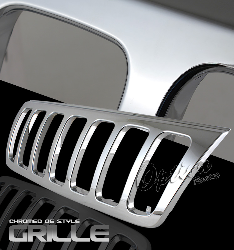 Jeep Grand Cherokee 1999-2003  Factory Style Chrome Front Grill