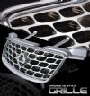 2000 Nissan Sentra   Factory Style Chrome Front Grill
