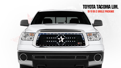 Toyota Tundra Limited/Platinum Series Only 2010-2011 - Rbp Rx-2 Series Studded Frame Main Grille Black