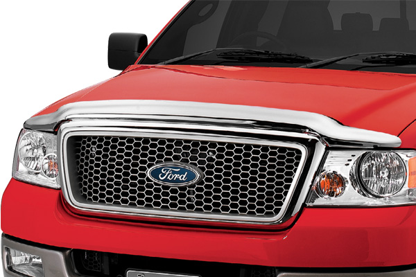 Ford F150 1997-2003  Chrome Hood Shield