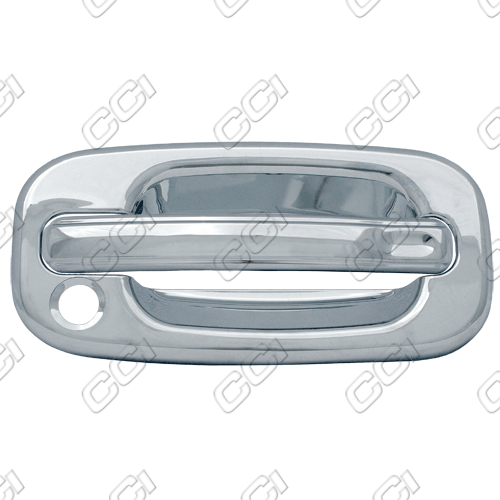 Chevrolet Silverado  1999-2006 2 Door,  Chrome Door Handle Covers -  w/ Passenger Keyhole