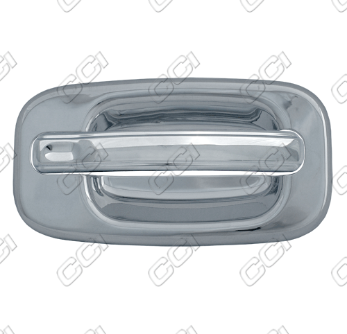 Chevrolet Avalanche  2002-2006 4 Door,  Chrome Door Handle Covers -  w/o Passenger Keyhole