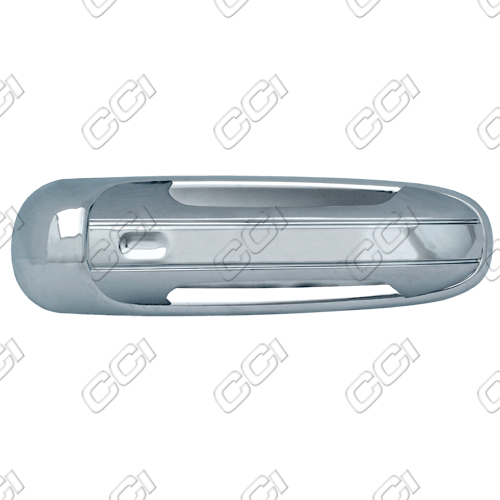 Dodge Ram  2002-2008 2 Door,  Chrome Door Handle Covers -  w/ Passenger Keyhole
