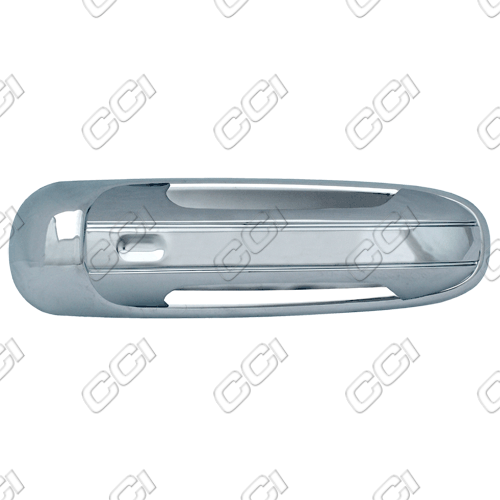 Jeep Liberty  2002-2007 4 Door,  Chrome Door Handle Covers -  w/ Passenger Keyhole