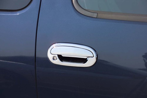 Ford Expedition, F-150 4 Door 97-03 Chrome Door Handle Covers w/ Passenger Keyhole