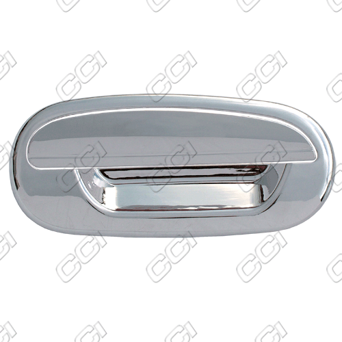 Ford F150  1997-2003 2 Door,  Chrome Door Handle Covers -  w/o Passenger Keyhole  w/o Keypad