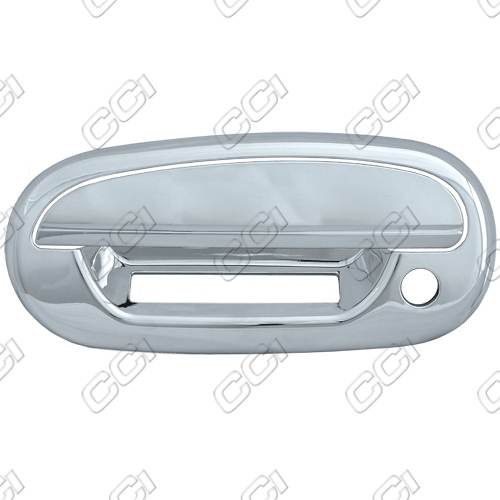 Ford Expedition  1997-2002 4 Door,  Chrome Door Handle Covers -  w/ Passenger Keyhole  w/ Keypad