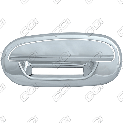 Ford Expedition  1997-2002 4 Door,  Chrome Door Handle Covers -  w/o Passenger Keyhole  w/o Keypad