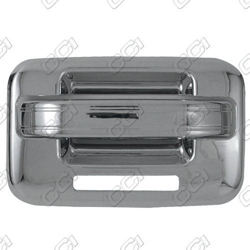 Ford F150  2004-2013 4 Door,  Chrome Door Handle Covers -  w/o Passenger Keyhole  w/ Keypad
