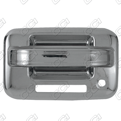 Ford F150  2004-2013 4 Door,  Chrome Door Handle Covers -  w/ Passenger Keyhole  w/ Keypad