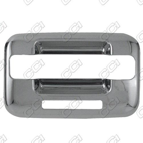 Ford F150  2004-2013 4 Door,  Chrome Door Handle Covers -  w/o Passenger Keyhole Bases Only w/ Keypad