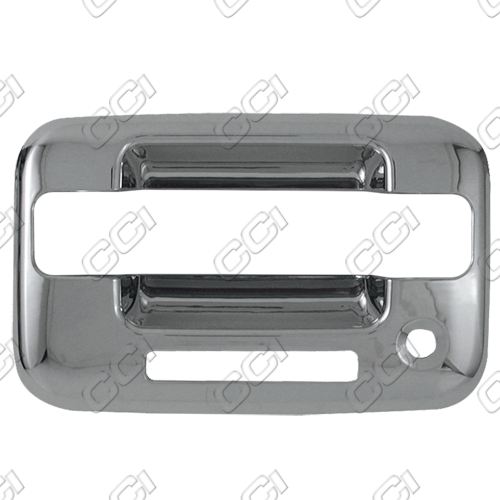 Lincoln Mark Lt 2005-2008 (4 Door)  Chrome Door Handle Covers w/ Passenger Keyhole Bases Only, w/ Keypad