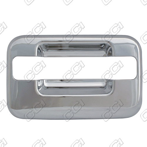 Lincoln Mark Lt  2005-2008 4 Door,  Chrome Door Handle Covers -  w/o Passenger Keyhole Bases Only w/o Keypad