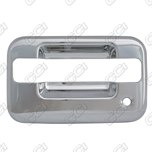 Lincoln Mark Lt  2005-2008 4 Door,  Chrome Door Handle Covers -  w/ Passenger Keyhole Bases Only w/o Keypad