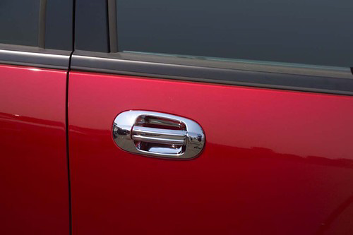 Ford Expedition 03-05 Chrome Door Handle Covers w/ Passenger Keyhole