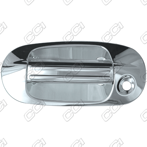 Lincoln Navigator 2003-2011 (4 Door)  Chrome Door Handle Covers w/ Passenger Keyhole Bases Only w/ Keypad