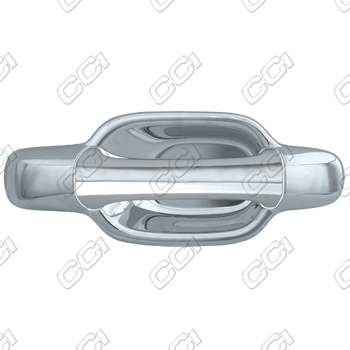 Chevrolet Colorado  2004-2012 2 Door,  Chrome Door Handle Covers -  w/o Passenger Keyhole