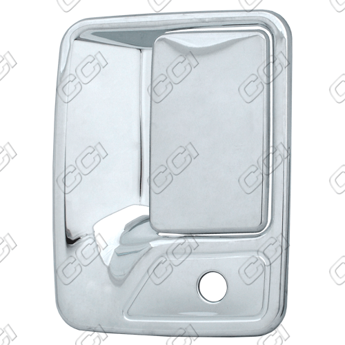 Ford Super Duty  1999-2013 4 Door,  Chrome Door Handle Covers -  w/ Passenger Keyhole