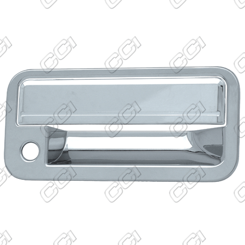 Gmc Full Size Pickup  1988-1998 2 Door,  Chrome Door Handle Covers -  w/ Passenger Keyhole