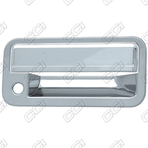 Gmc Yukon  1992-1999 4 Door,  Chrome Door Handle Covers -  w/ Passenger Keyhole