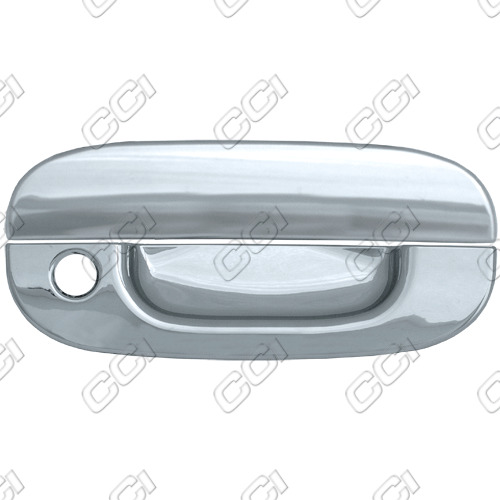 Dodge Ram  1994-2001 2 Door,  Chrome Door Handle Covers -  w/ Passenger Keyhole