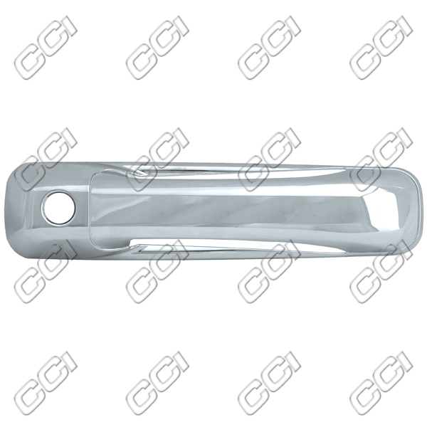 Jeep Commander  2005-2011 4 Door, Chrome Door Handle Covers w/ Passenger Keyhole