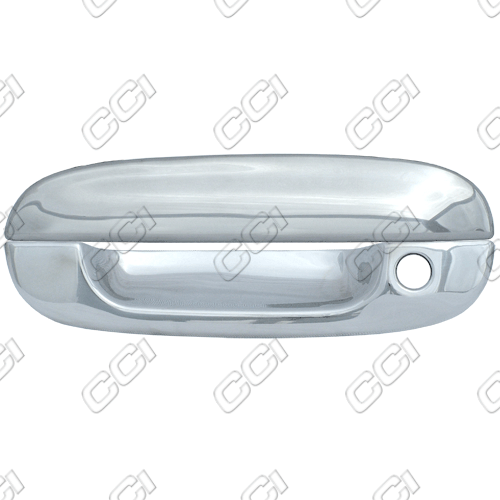 Chevrolet Trailblazer  2002-2009 4 Door,  Chrome Door Handle Covers -  w/o Passenger Keyhole