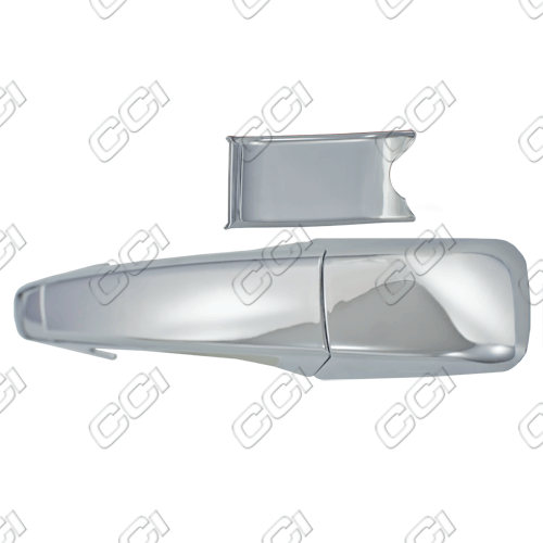Chevrolet Silverado  2007-2013 4 Door,  Chrome Door Handle Covers -  w/o Passenger Keyhole