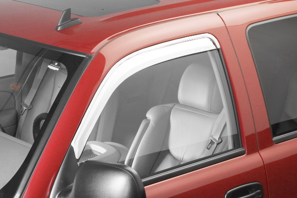 Ford Super Duty F-650 1999-2011 Chrome Ventvisor Front Window Deflectors