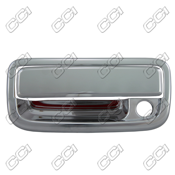 Toyota Tacoma 1995-2004 (4 Door)  Chrome Door Handle Covers w/ Passenger Keyhole