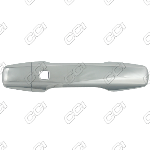 Toyota Landcruiser  2008-2013 4 Door,  Chrome Door Handle Covers -  w/o Passenger Keyhole