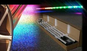 7 Solid Color Under Car Neon Kit - 4 Piece (2.1 Million Fading Colors)