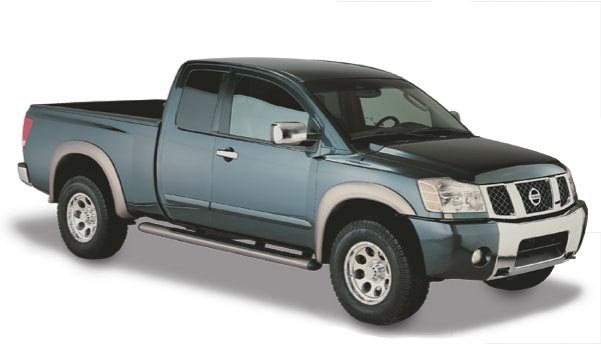 Nissan Titan with Bedside Lockbox 2004-2006 Bushwacker Fender Flares
