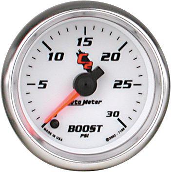 Auto Meter C2 2-1/16 inch Boost Gauge