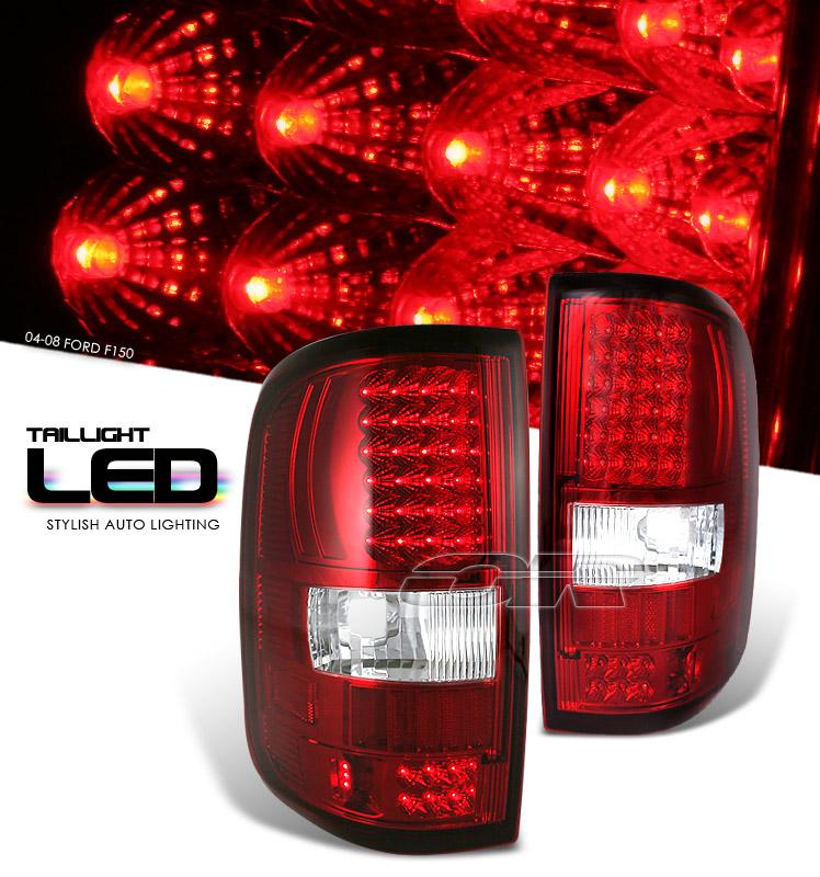 red led tail lights view all ford f150 tail lights all ford f150. Black Bedroom Furniture Sets. Home Design Ideas