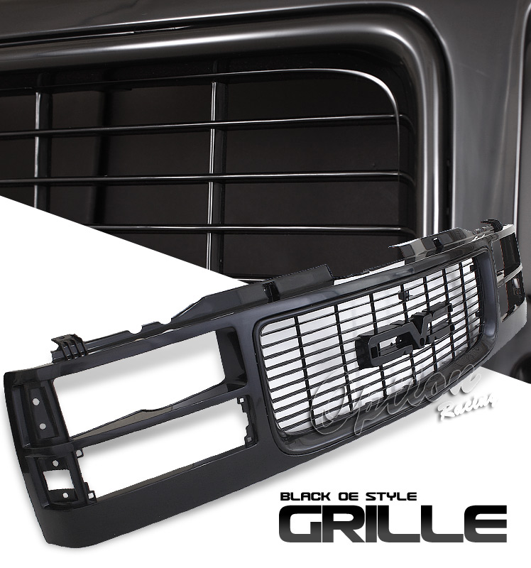 Chevrolet Full Size Pickup 1994-1999  Factorym Style - Black Grille Front Grill