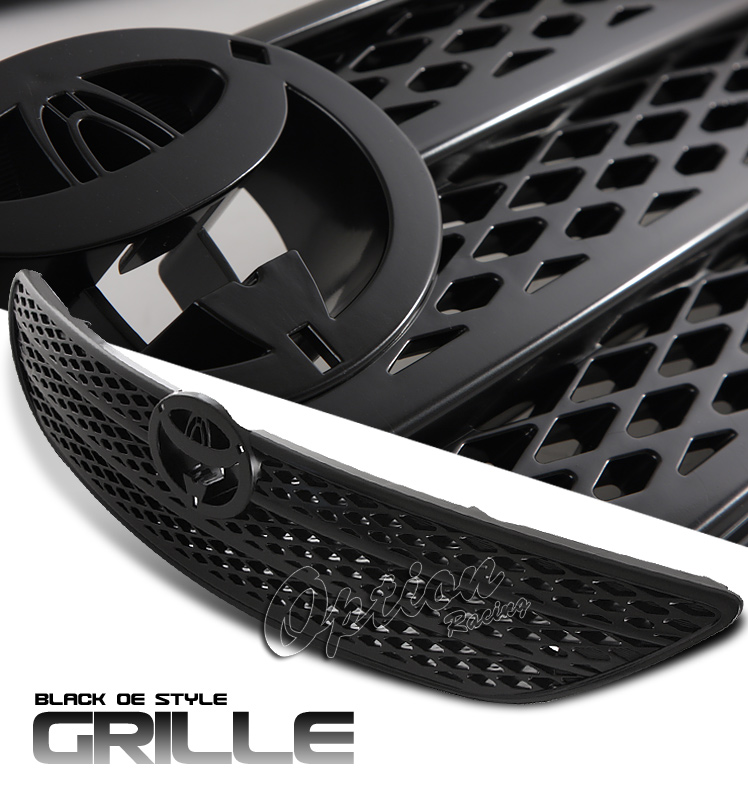 Toyota Camry 2002-2004  Factory Style Black Front Grill