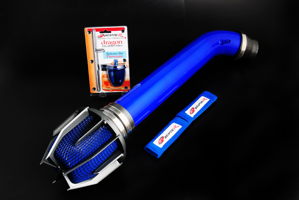 Honda Civic Ex / Hx ( Blue Pipe ) 1999-2000 Weapon-R Dragon Air Intake