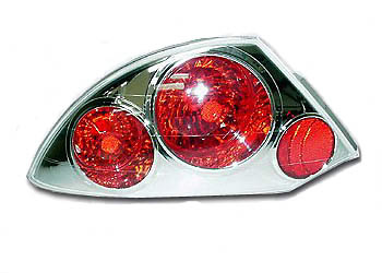 Mitsubishi Eclipse 00-02 Chrome Euro Taillight (TYC)