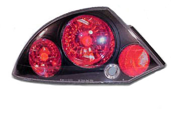 Mitsubishi Eclipse 00-02 Black Euro Taillight (TYC)